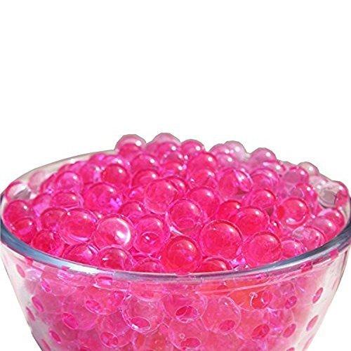 Trimming Shop Wasser Wasser Kugeln Vase Nicht Giftig Kristall Kugeln Gel-Filler Heimküche Hochzeit Geburtstagsparty Tisch Tafelausatz Dekoration - 2000 Teile Hot Pink