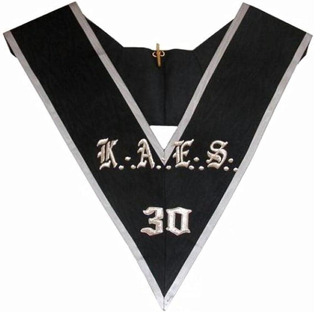 Masonic collar - AASR - 30th degree - KAES