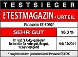 Panasonic ES-ED92 6-in-1 Epilierer (Wet & Dry, 6 Aufsätze zur Haarentfernung) - 5