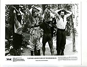 MOVIE PHOTO: Further Adventures Of Tennessee Buck--8x10-Promo-B&W-Action-Comedy-Still-NM