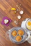 Babymoov Nutribaby Cherry – Babynahrungszubereiter, schonendes Dampfgaren, Mixen, Sterilisieren, Aufwärmen, 2100ml Fassungsvermögen - 3