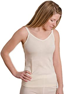 Hocosa Organic Wool-Silk Camisole/Camisette for Women