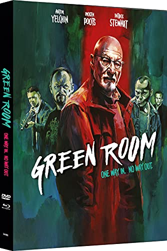 Green Room - 2-Disc Mediabook - Cover B - Limited Edition auf 333 Stück (+ DVD) [Blu-ray]