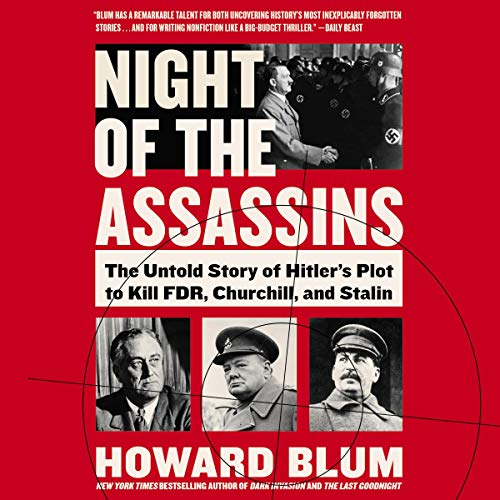 Night of the Assassins audiobook cover art