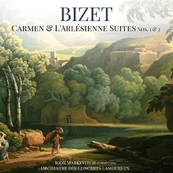 Bizet: Carmen & L'Arlésienne Suites Nos. 1 & 2