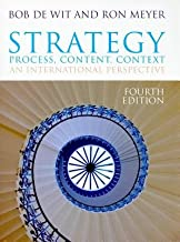 Strategy( Process Content Context( An International Perspective)[STRATEGY 4/E][Paperback]