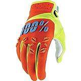 100% Airmatic Kinder Handschuhe Verstärkt MTB DH MX Motocross Enduro Offroad Quad, HU-GLO-0008, Farbe Orange, Größe S