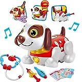 deAO Mascota Interactiva para Practicar Inglés Actividad Infantil de Aprendizaje con Perrito Robot I...