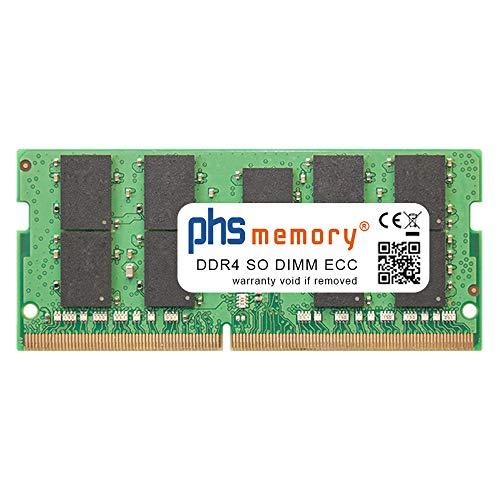 PHS-memory 16GB RAM Speicher passend für Synology DiskStation DS1621+ DDR4 SO DIMM ECC 2666MHz PC4-2666V-P
