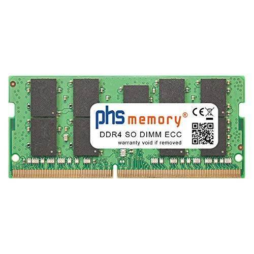 PHS-memory 16GB RAM Speicher für Synology DiskStation DS1621+ DDR4 SO DIMM ECC 2666MHz PC4-2666V-P