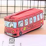 N\A 1 Caja de Lienzo Grande Caja de lápices Suministros Escolares Autobús Lápiz Funda Bolsa Muchacho Muchacho Papelería Pensión Bolsa Bolsa Rack (Color : D)