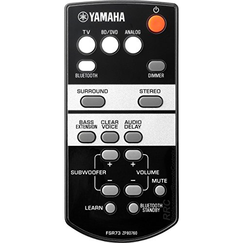 OEM Yamaha Remote Control Supplied with ATS1050 & ATS-1050