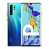 """Huawei P30 Pro - Smartphone de 6.47"""" (Kirin 980 Octa-Core de 2.6GHz, 8GB RAM, Memoria interna de 128 GB, cámara de 40 MP, Android) Color Aurora [Versión ES/PT]"""