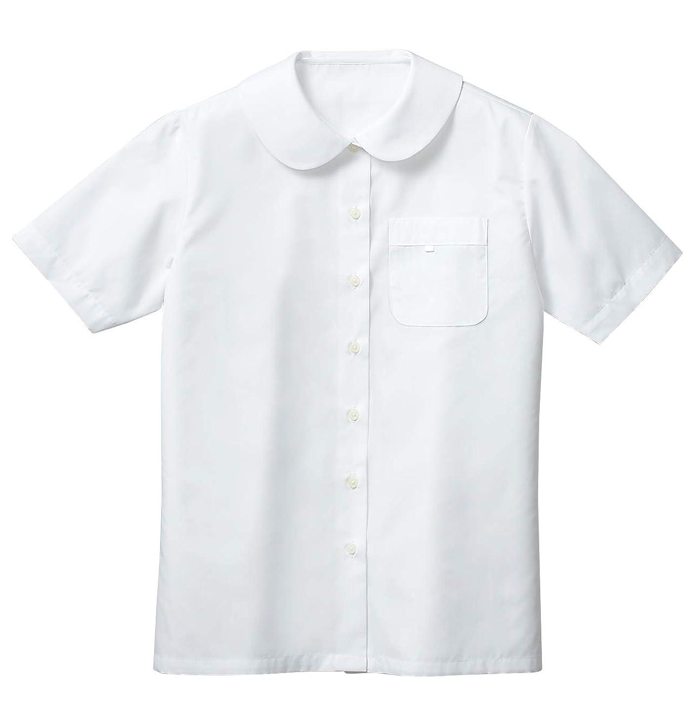 花嫁データベースウェイター[セシール] 半袖スクールシャツ?ブラウス(女児) キッズ 子供 学生 制服 通学シャツ 女の子 TH-1157