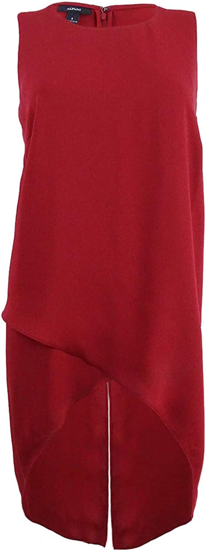 Alfani Women's Sleeveless Credver HighLow Tunic