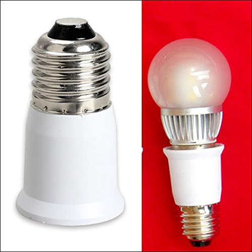 E27 to E27 Extension Base CLF LED Light Bulb Lamp Adapter Socket Converter Lamp Holder Converters -All U Need