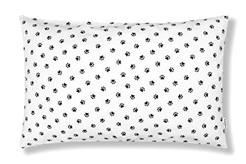 Amilian® Dekokissen Kissenbezug Kissen 40cm x 60cm Pfötchen