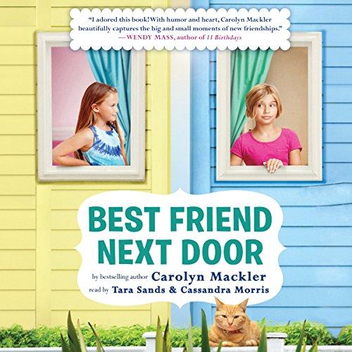 Best Friend Next Door audiobook cover art