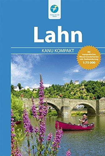 Kanu Kompakt Lahn - mit topografischen Wasserwanderkarten
