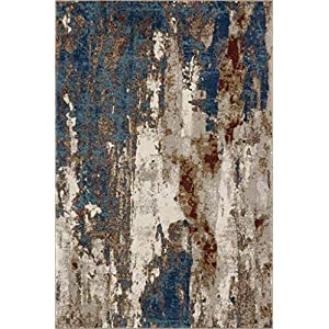 Luxe Weavers Lagos Collection Passion 8×10 Abstract Area Rug