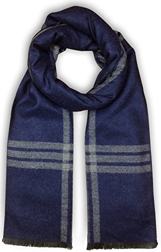 Bleu Nero Luxurious Winter Scarf for Men and Women – Large Selection of Unique Design Scarves –...