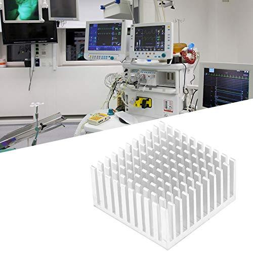 Shipenophy Disipador de Calor confiable Placa Base CPU Enfriador Radiador Frambuesa para Raspberry Pi(Silver)
