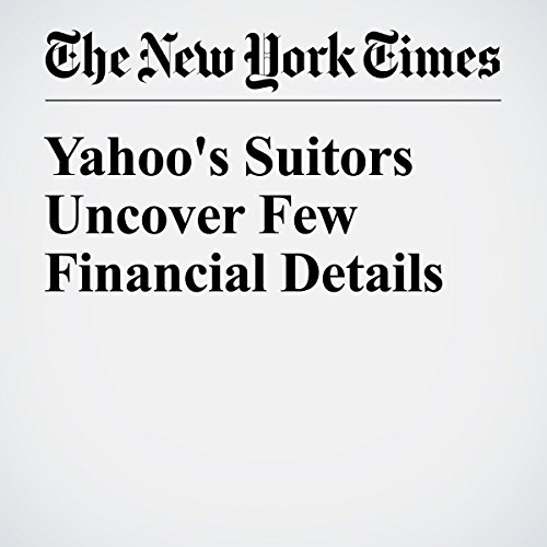 Yahoo's Suitors Uncover Few Financial Details cover art