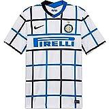 Nike Herren Inter M NK BRT STAD JSY SS AW T-Shirt, White/(Black) (Full Sponsor), L