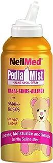 NeilMed Pediamist Pediatric Saline Spray, 2.53 Fl. Oz (Pack of 1) - Packaging May Vary