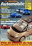 MONITEUR AUTOMOBILE (LE) [No 1258] du 28/02/2002 - ESSAIS NOUVEAUTES - ESSAIS DETAILLES - PEUGEOT 206 - RENAULT CLIO - TOYOTA YARIS ET VW POLO - BMW 735I - HYUNDAI MATRIX - MERCEDES ML - TOYAOTA COROLLA - MERCEDES CLASSE E