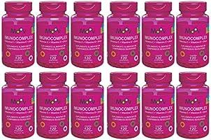 12 Imunocomplex Vitaminas C D Zinco 1440 Comprimidos