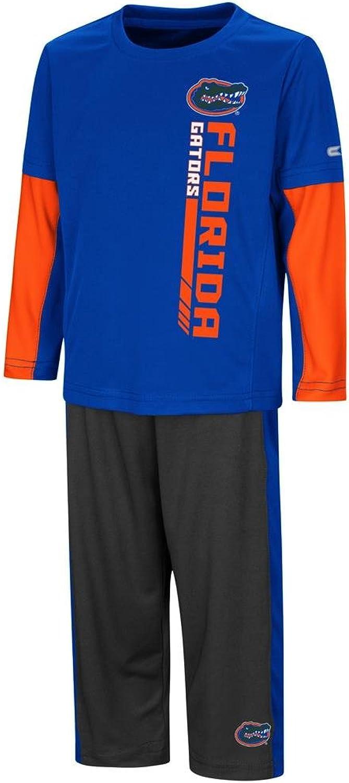 Colosseum University of Florida Gators Toddler Boy's Long Sleeve Shirt Pant Set