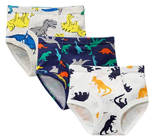 DEMU 3-pak klein meisjes ondergoed katoen slips broekje boyshort