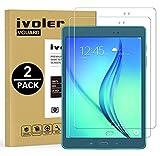 ivoler Pack de 2 Verre Trempé Compatible avec Samsung Galaxy Tab A 9.7 Pouces (T550 / T555)...