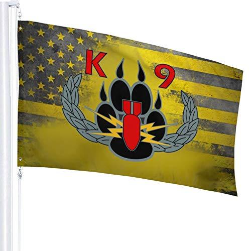 Explosives Detection K9 Garden Flag Outdoor Decor Banner Home House Flags 3 X 5 Ft