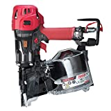 MAX USA CORP. MAX USA PowerLite HN90F High Pressure Framing Coil Nailer up to 3-1/2', red/black/silver