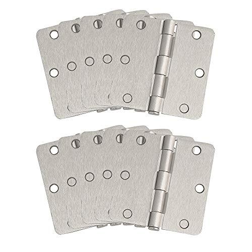 Design House 181362 10-Pack Hinge 3.5', Satin Nickel