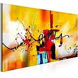 murando Quadro Astratto 120x40 cm - 1 pezzo Stampa su tela in TNT XXL Immagini moderni Murale Fotografia Grafica Decorazione da parete come dipinto a-A-0323-b-b