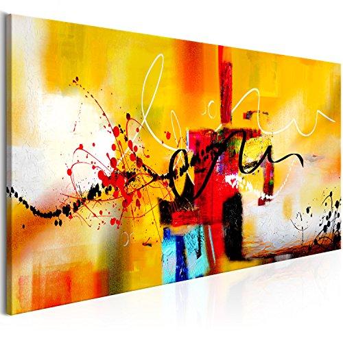 murando Quadro Astratto 120x40 cm 1 pezzo Stampa su tela in TNT XXL Immagini moderni Murale Fotografia Grafica Decorazione da parete come dipinto a-A-0323-b-b
