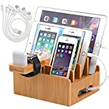 Pezin & Hulin Bamboo Charging Stations for Multiple...