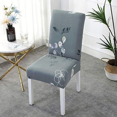 WZDD Velvet eetkamerstoelhoezen, Zachte uitneembare eetkamerstoel, 2 uitneembare uitneembare afwasbare Elastische stoelhoezen voor fauteuil, restaurant, hotel