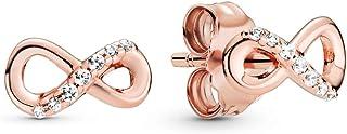 Pandora Pendientes de botón Mujer acero inoxidable No aplicable - 288820C01