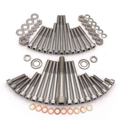 MZ TS 250/1 Moteur MM250/4 Vis cylindriques à six pans creux en acier inoxydable