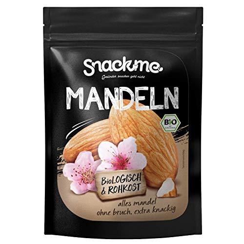 Bio Süß-Mandeln Mandelkerne Nüsse 1kg mit Haut Spanien Rohkost-Qualität ohne Bruch unbehandelt ungesalzen ungeröstet naturbelassen