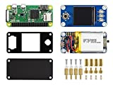 Waveshare Raspberry Pi Zero WH Package F Together with UPS Module and 1.3inch LCD Bildschirm Ready-to-Use kit