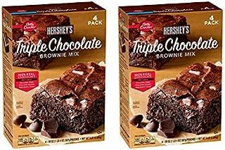 Betty Crocker's Hershey's Triple Chocolate Brownie Mix (20 oz., 4 pk.) (2 boxes)