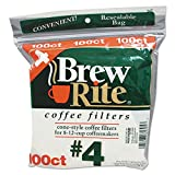 Cone Filters For Retail Coffeemakers, 8 Cups, 100 Filters/pack