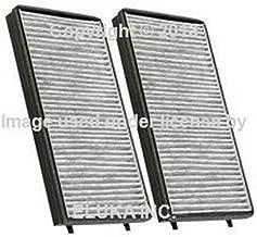 2 X BMW OEM Cabin Air Filter Set - Activated Charcoal E65 E66 745i 750i 760i ALPINA B7 745Li 750Li 760Li