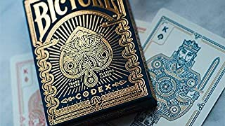 MTS Bicycle Codex Playing Cards by Elite Playing Cards