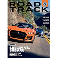 Road & Track Magazine Subscription 1 Yr 10 Issues